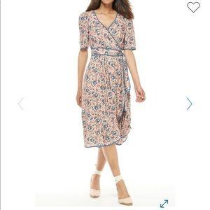 Gal Meets Glam Isadora Floral Cascade Dress